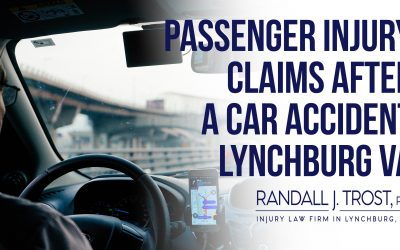 Passenger Injury Claims After a Car Accident Lynchburg VA